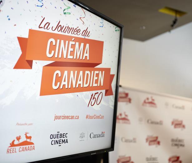 Conférence de presse - La Journée du cinéma canadien 150