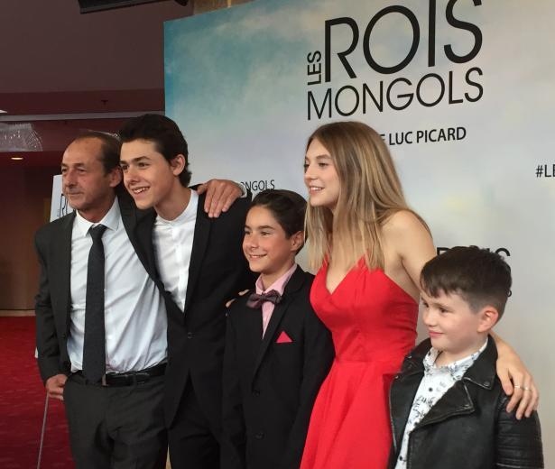 Première du film Les rois mongols
