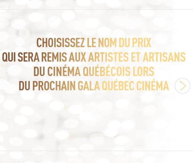 Québec Cinéma sollicite le public et l'industrie