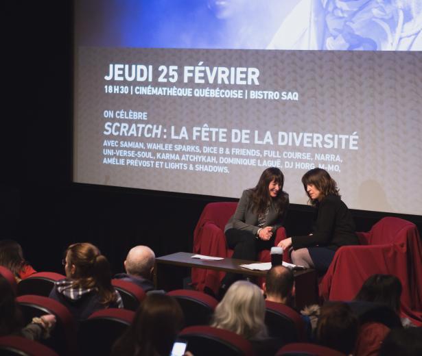 #RVCQ16 | Leçon de cinéma : Pascale Bussières