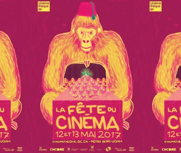 Une grande fête pour le 7<SUP>e</SUP> art à la Cinémathèque québécoise