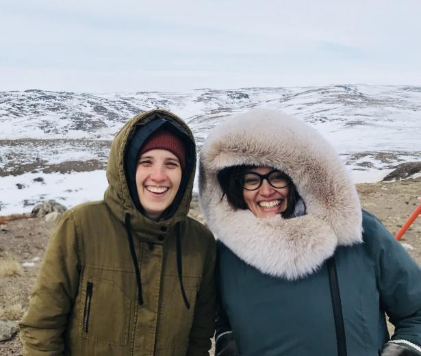 Sophie Dupuis à Iqaluit