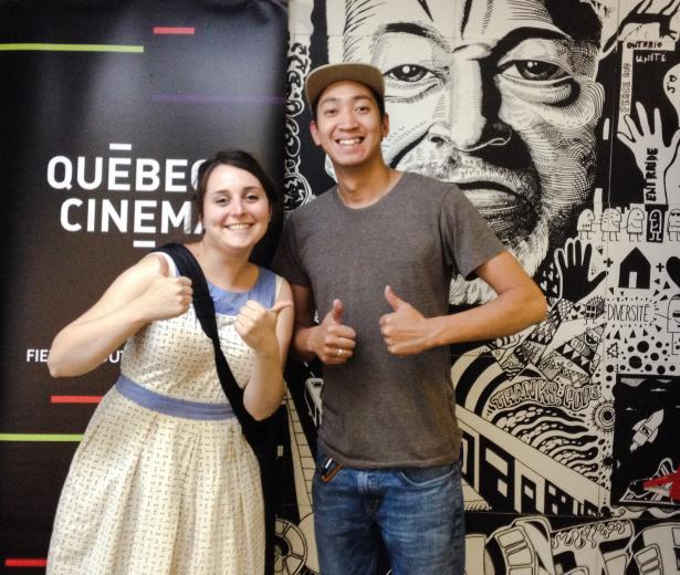 Plus de 250 jeunes de la rue sensibilisés au cinéma québécois!