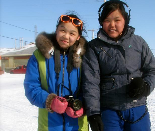 Une tradition inuite dans l'objectif de la Tournée du cinéma québécois !