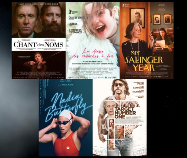 Iris du Film s'étant le plus illustré à l'extérieur du Québec 2021