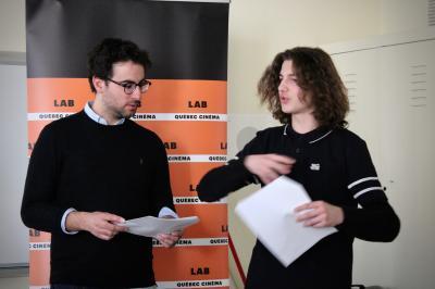 François Jaros rencontre les élèves de l'École Honoré-Mercier_1