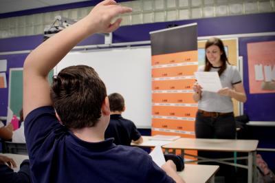 Sarianne Cormier offre une captivante leçon de cinéma à l'école Saint-Edmond !_4