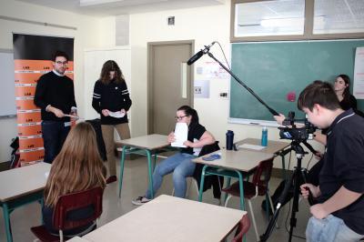 François Jaros rencontre les élèves de l'École Honoré-Mercier_5