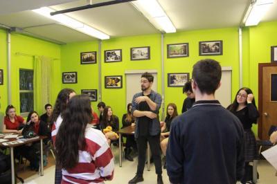 Ian Lagarde rencontre les jeunes à Châteauguay_0