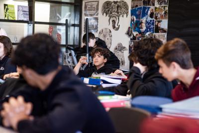 Marianne Fortier et Rose-Marie Perreault rendent visite à l'école Édouard-Montpetit_1